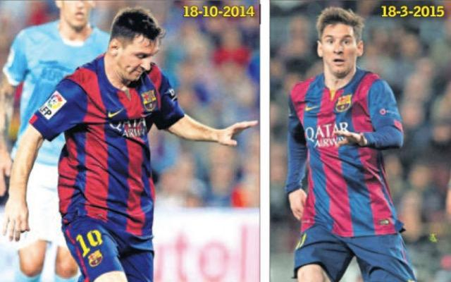 Messi, Before and After