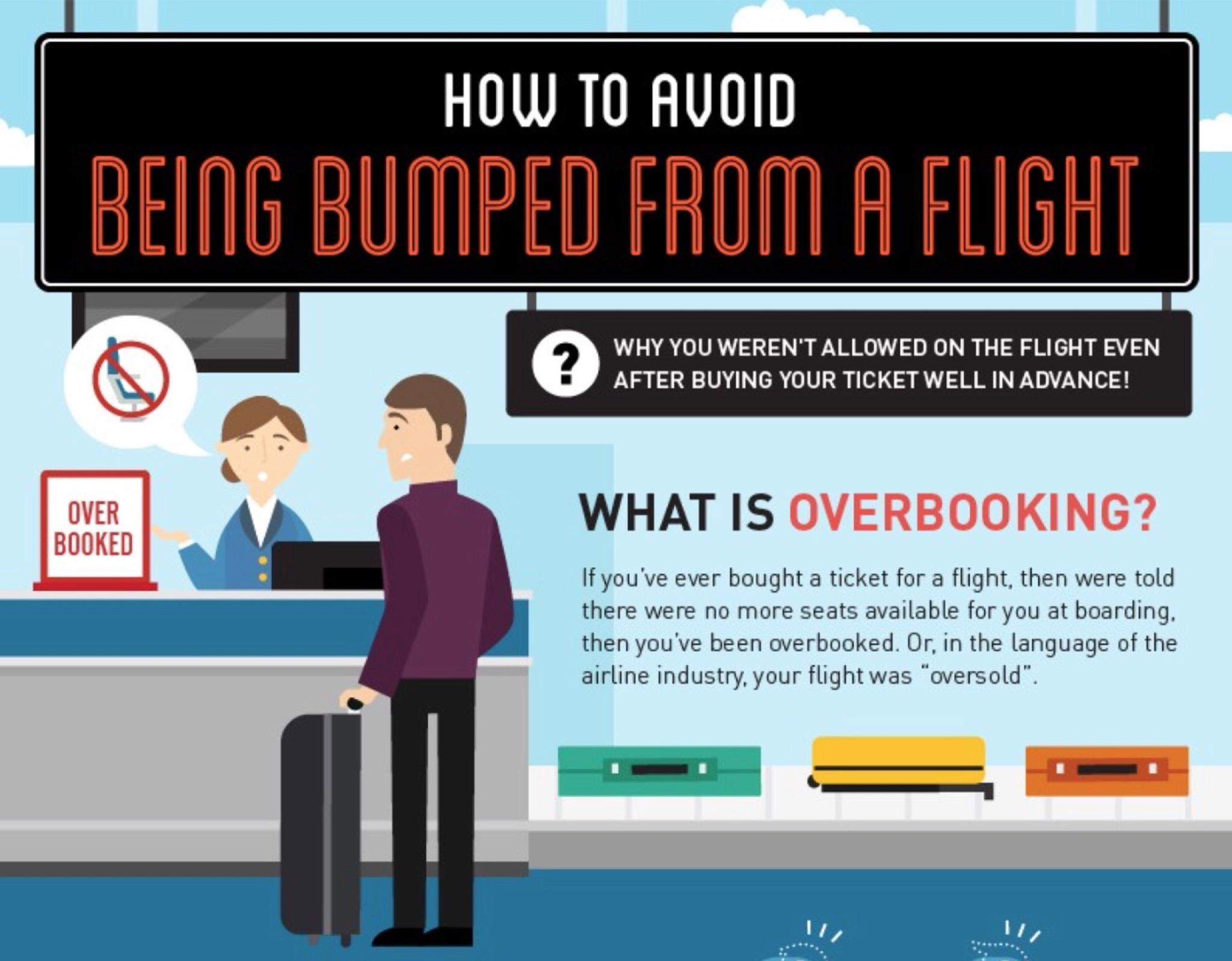 海外で飛行機の予約を取り消されることを避ける方法