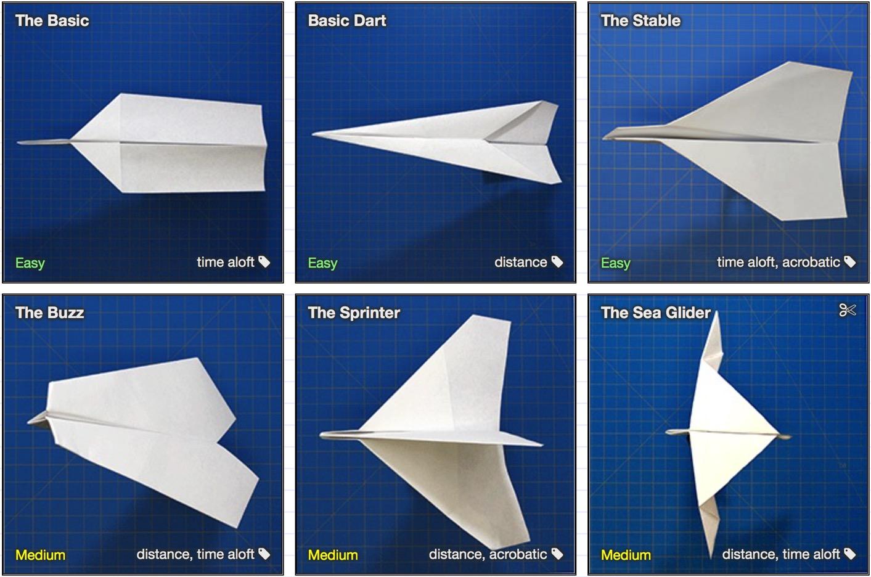 「折って、飛べ!」最高の紙飛行機を作ってみたい少年のために