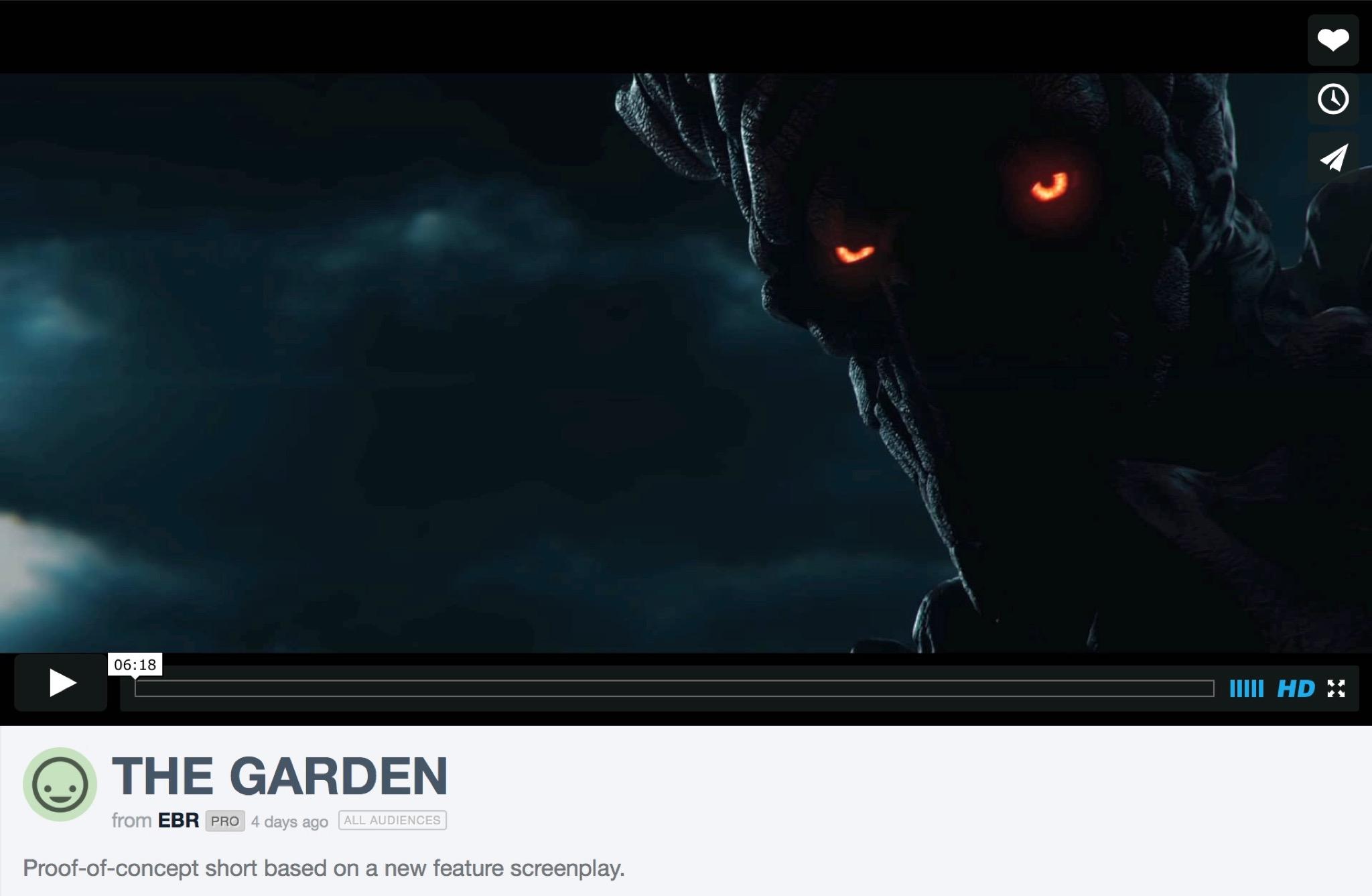 ザ・ガーデン| 園| The Garden (短編映画)