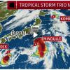 今年の台風のネーミングは国際色豊かだけど、変わった「名前」が多い