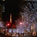 日本のクリスマス・イルミネーション(三カ国語で紹介されているフォトギャラリー)